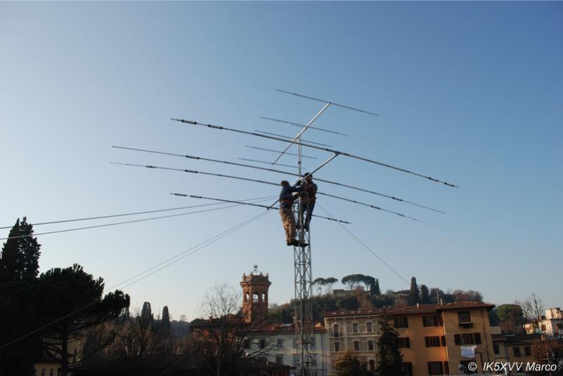 Antenna-ARI-montata