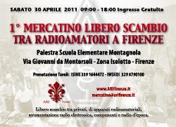 1° Mercatino Radioamaori Firenze