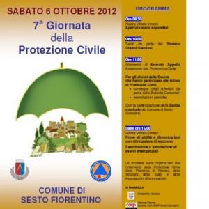 Protezione Civile Sesto Fiorentino 2012