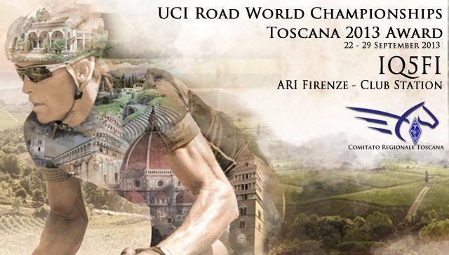 IQ5FI Award Mondiali Ciclismo UCI