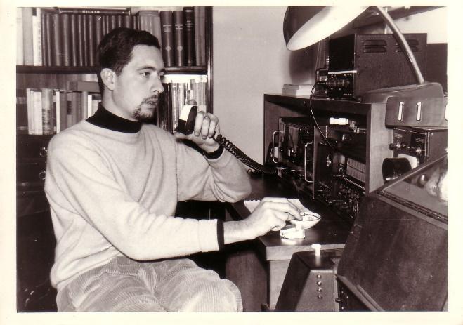 Carlo Luigi Ciapetti I1CLC, fondatore della rete radioamatori